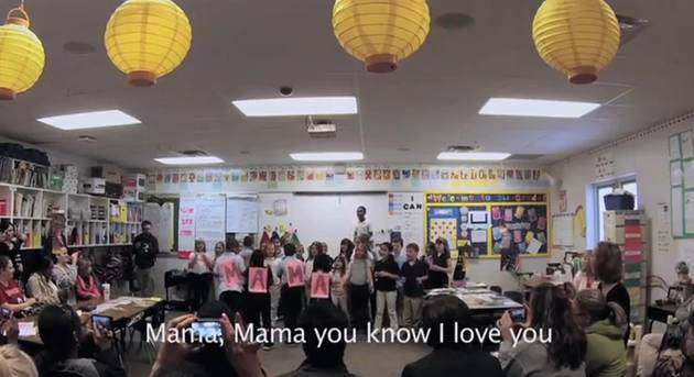 Countdown to Mother's Day, Day 4: Students Perform Touching Surprise Boyz II Men Flash Mob For Their Moms (VIDEO)
