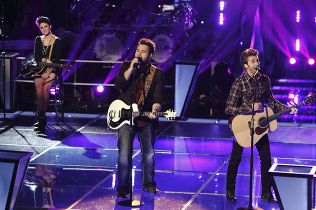 Grace Askew and The Swon Brothers Sing on The Voice 2013 Knockout Rounds (VIDEO)