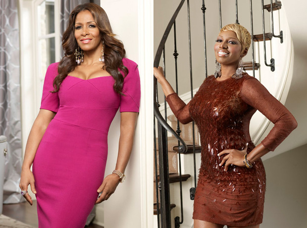 "NeNe Leakes Says Sheree Whitfield Is ""Evil"" (VIDEO)"