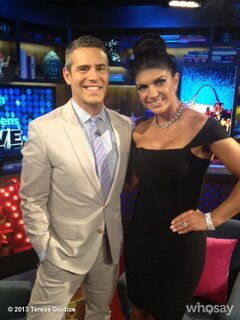 "Teresa Giudice Says She's ""Always Supported"" Her Family and Friends"