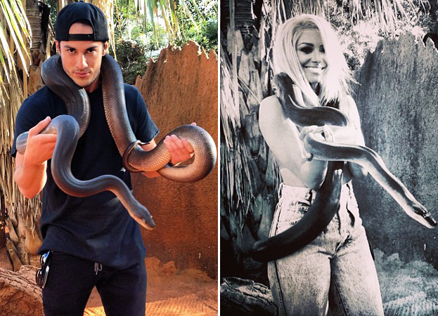 Kat Graham and Michael Trevino Are Snake Charmers: Who Wore It Best?