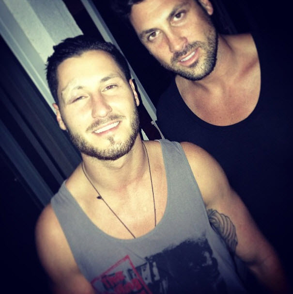 Val Chmerkovskiy Gets 14 Stitches After Dancing With the Stars 2013 Injury