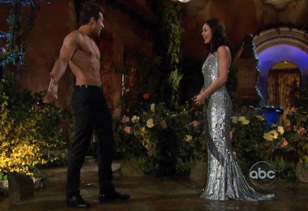 Bachelorette 2013 Spoiler: Who Arrives Shirtless — And What Happens?