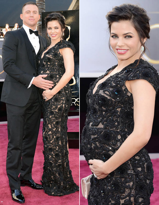 """Pregnant Jenna Dewan-Tatum Gets """"Acupuncture For the First Time!"""" (PHOTO)"""