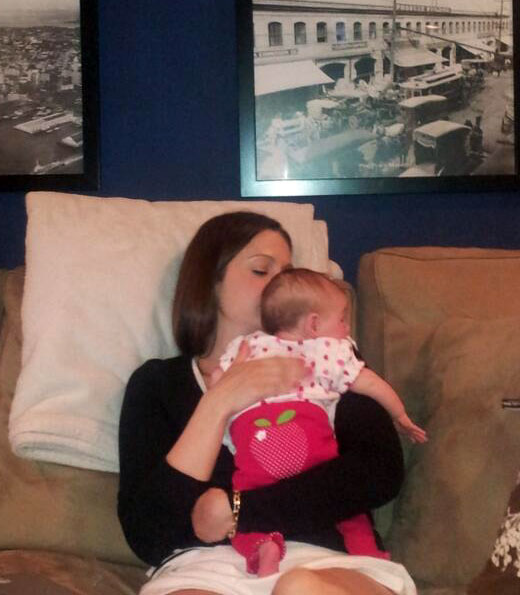 Molly Mesnick Celebrates Her First Mother's Day With Baby Riley!