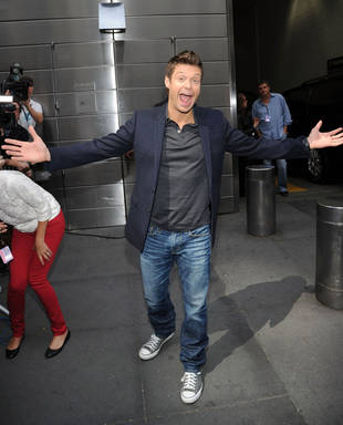 Is Ryan Seacrest Dating a Mysterious Blonde Model?
