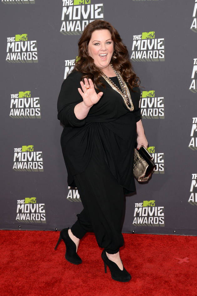 """Melissa McCarthy Responds to the Film Critic Who Called Her """"Tractor-Sized"""""""
