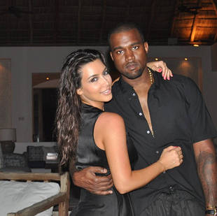 "Kanye West Opens Up About Being ""In Love"" With Kim Kardashian"