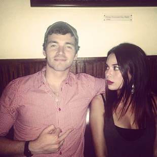 """Pretty Little Liars' Ian Harding and Janel Parrish """"Clearly Hate Each Other"""" (PHOTO)"""