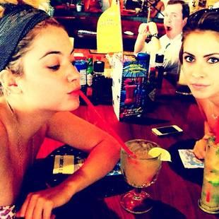 Pretty Little Liars' Ashley Benson's Summer Happy Hour: Cocktail Alert! (PHOTO)