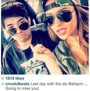 Pretty Little Liars' Shay Mitchell Hangs With Adorable Little Brother (PHOTO)