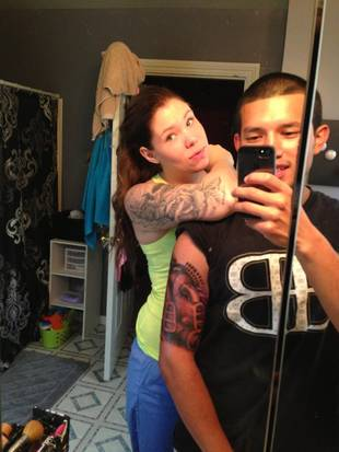 Kailyn Lowry and Javi Marroquin Spotted Filming During Tattoo Session (PHOTO)
