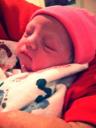Danielle Cunningham Gives Birth to Baby Girl! (PHOTO)