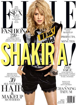 Shakira Shows Off Amazing Post-Baby Bod in New Elle Cover Shoot! (VIDEO)