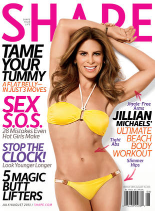 Jillian Michaels Gets in Shape With Fans! (PHOTO)