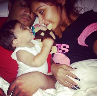 Snooki, Fiancé Jionni, and Baby Lorenzo Celebrate Their First Father's Day! (PHOTOS)