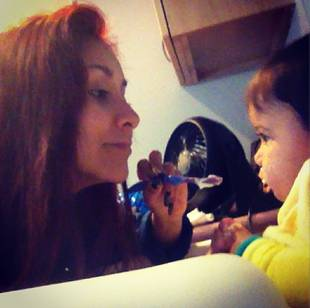 Snooki Feeds Lorenzo WHAT Before Bed? The Answer May Surprise You!