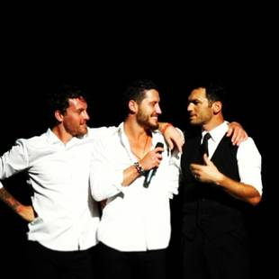 "Val Chmerkovskiy, Tristan MacManus, and Tony Dovolani Are ""The Three Amigos""! (PHOTO)"