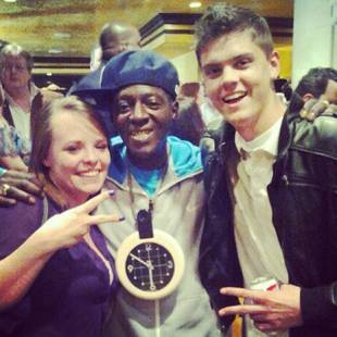 Catelynn Lowell and Tyler Baltierra Hang Watch Flavor Flav at Public Enemy Concert! (VIDEO)