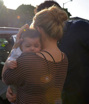 Shakira and Baby Milan Spotted Shopping For Designer Duds! (PHOTOS)