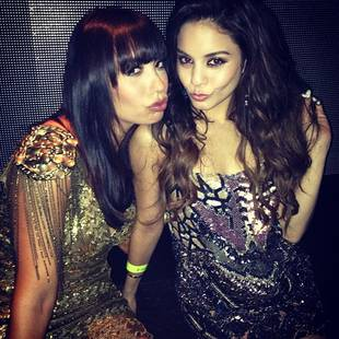 Cheryl Burke and Vanessa Hudgens Are BFFs in Flashback Party Pic!