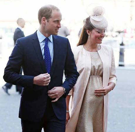 "Pregnant Kate Middleton ""Nervous"" Prince William Will Miss Birth"