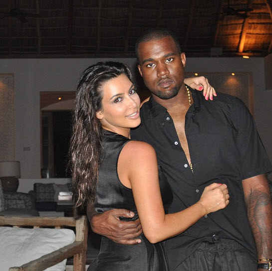 Kim Kardashian's Baby: Kanye West Thrilled to See Daughter! — Report