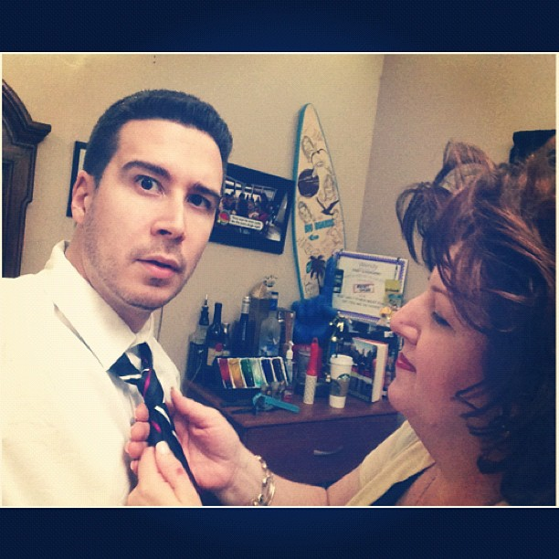 Vinny's Mom Was in a Big Hollywood Film?! He Reveals… (PHOTO)
