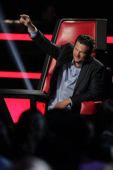 """Blake Shelton: """"Michelle Chamuel Was a Thorn in my Side"""" on The Voice 2013"""