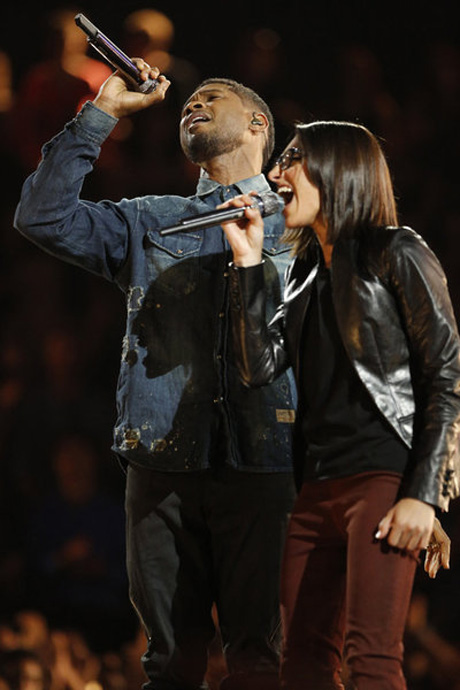 """Michelle Chamuel and Usher Sing """"One"""" on The Voice 2013 Finale, June 17 (VIDEO)"""