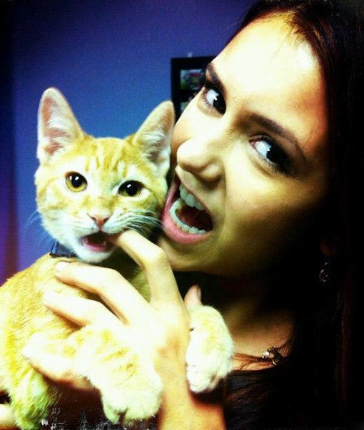 Ian Somerhalder and Nina Dobrev Break Up But She Still Has the Cat?