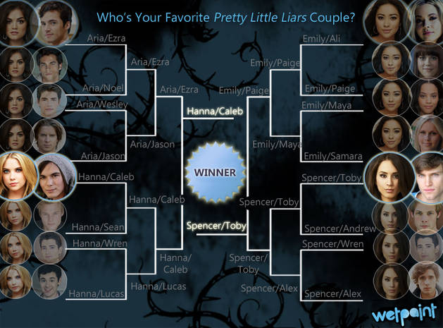 Pretty Little Liars Ship Bracket: Vote for Your Favorite Couple — Finals!