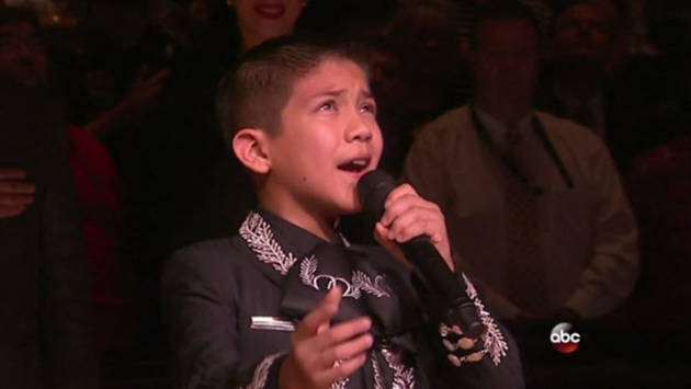 America's Got Talent 11-Year-Old Mariachi Singer Defies Racist Tweets to Sing National Anthem