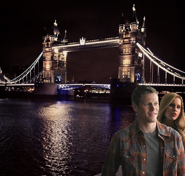Where in the World Are Rebekah and Matt This Week? London!