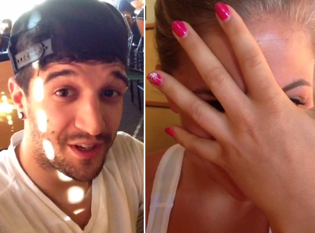 Dancing With the Stars Partners Mark Ballas and Shawn Johnson Reunite! (VIDEO)