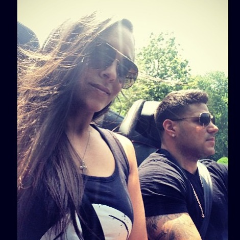 Sammi and Ronnie Show Off Their Parenting Skills — Adorable Alert! (PHOTO)