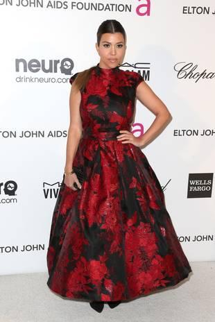 Kourtney Kardashian Claims She Was Raised By Nannies, Not Kris Jenner!