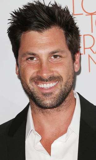 Dancing With the Stars' Maksim Chmerkovskiy Gets Starstruck — Over Himself! (PHOTO)