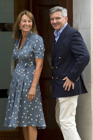 "Kate Middleton's Mom Carole Says the Royal Baby Is ""Absolutely Beautiful"""