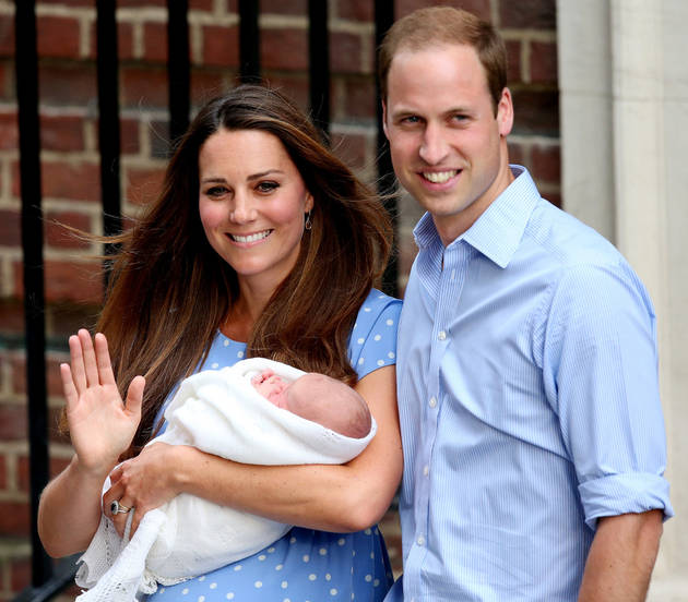 Kate Middleton's Blue Polka-Dot Baby Reveal Dress: Who Made It? Can You Buy It?