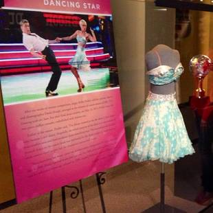 Kellie Pickler's Dancing With the Stars Mirror Ball on Display at Country Music Hall of Fame