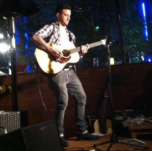 Dancing With the Stars Pro Mark Ballas Rocks Out at Small Gig in Los Angeles (PHOTO)