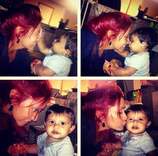 Snooki Debuts Crazy New Hair During Playdate With Lorenzo (PHOTO)