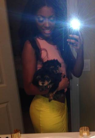 """Porsha Stewart Is Very Happy With Her """"Babies"""" (PHOTO)"""