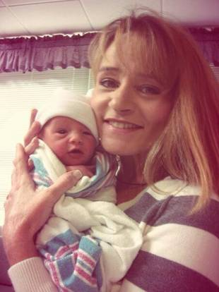 Maci Bookout's Mom Sharon Poses With Newborn Baby Bentley — Flashback! (PHOTO)