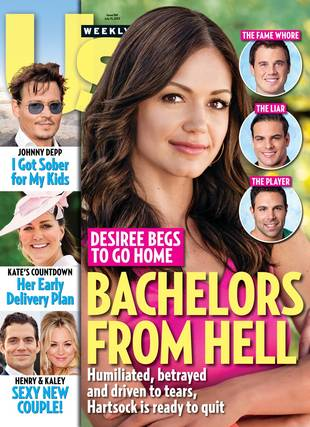 "Us Weekly Dubs Three of Desiree Hartsock's Guys ""Bachelors From Hell"""