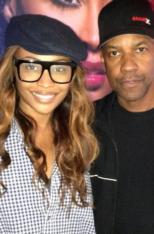 Cynthia Bailey Parties With Denzel Washington at Bar One (PHOTO)