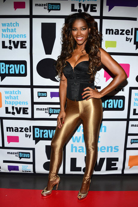 """Kenya Moore """"Excited"""" to Move Out of Atlanta Home"""