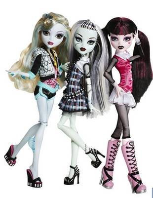 Monster High's 'Goth Barbies' Are the Second Best Selling Dolls in the World