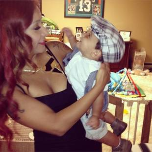 """Snooki Is Having a """"Heart Attack"""" Over Lorenzo Doing WHAT?!"""